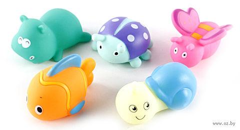 Набор игрушек для купания (5 шт.; арт. CQS601-4) — фото, картинка