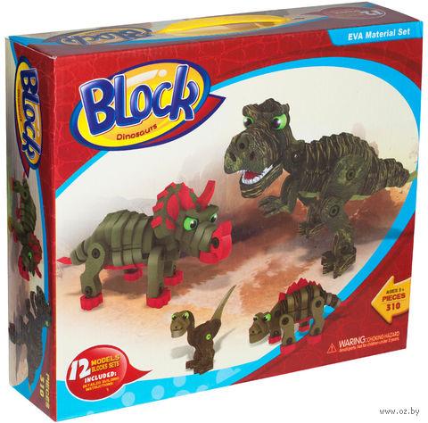 """Конструктор """"Динозавры"""" (310 деталей) — фото, картинка"""