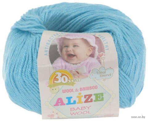 """Пряжа """"ALIZE. Baby Wool №128"""" (50 г; 165 м) — фото, картинка"""