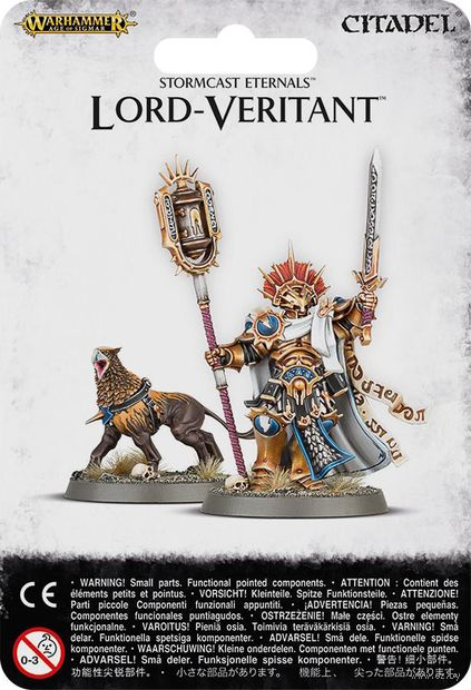 Warhammer Age of Sigmar. Stormcast Eternals. Lord-Veritant (96-25) — фото, картинка