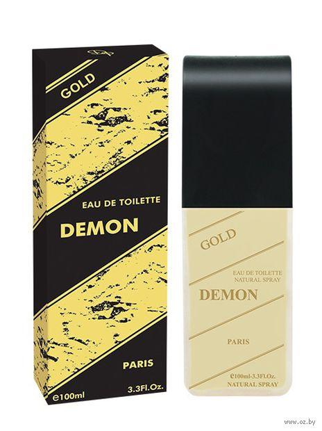 "Туалетная вода для мужчин ""Demon Gold"" (100 мл) — фото, картинка"