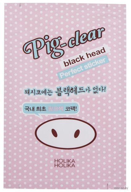 """Очищающая полоска для носа """"Pig-Nose"""" (1 шт.) — фото, картинка"""