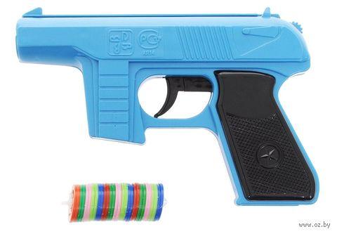 Пистолет (с дисковыми пулями) — фото, картинка