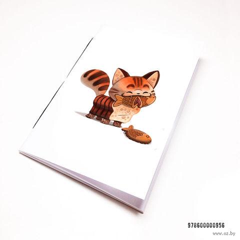 "Блокнот ""Котик"" (А7; арт. 956) — фото, картинка"