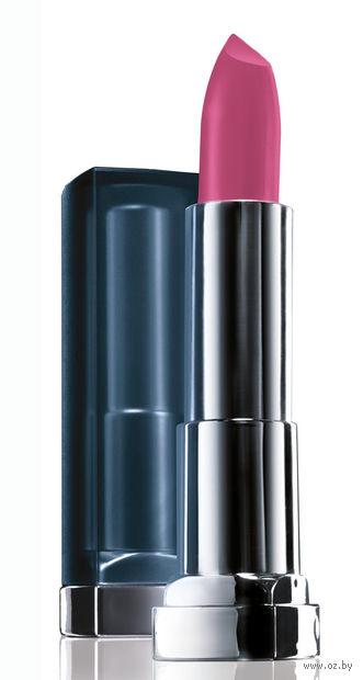 """Помада для губ """"Color Sensational. Матовое искушение"""" (тон: 940, розовый зефир) — фото, картинка"""