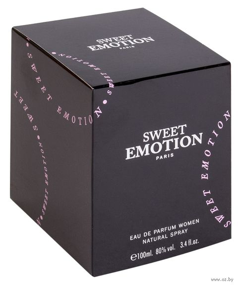 """Парфюмерная вода для женщин """"Sweet Emotion"""" (100 мл) — фото, картинка"""