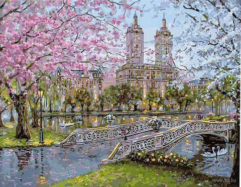 """Картина по номерам """"В городском парке"""" (400х500 мм) — фото, картинка"""