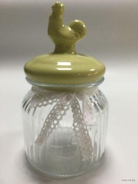 """Емкость для сыпучих продуктов """"Желтый петушок"""" — фото, картинка"""