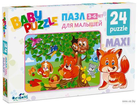 "Пазл ""Baby Puzzle. Собираем ягоды"" (24 элемента) — фото, картинка"