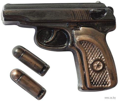 """Форма для изготовления мыла """"Пистолет Макаров с пулями"""" — фото, картинка"""
