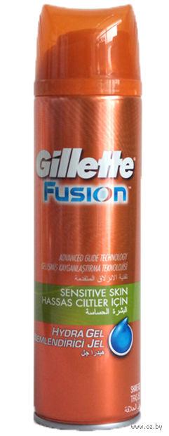 "Гель для бритья ""Fusion. Hydra gel sensitive skin"" (200 мл)"