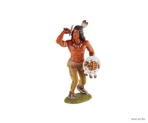 """Фигурка """"Индеец-воин"""" (9 см)"""