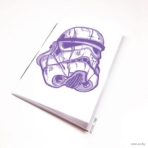 """Блокнот белый """"Звездные войны. Штурмовик"""" А6 (106)"""