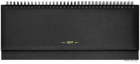 """Еженедельник-планинг датированный """"Ariane"""", 2017 (64 листа; черный)"""