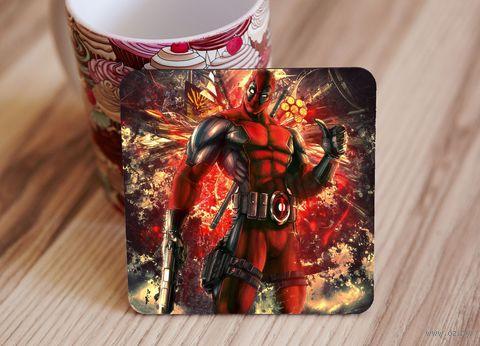 "Подставка под кружку ""Deadpool"" (art. 10)"