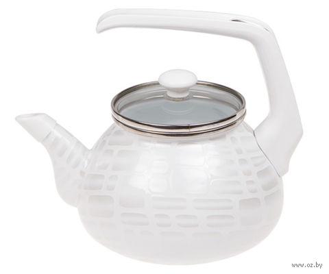 """Чайник стальной эмалированный """"Метелица"""" (2,2 л) — фото, картинка"""