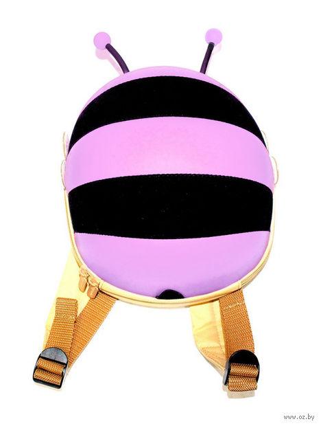 """Рюкзак """"Пчелка"""" (сиреневый) — фото, картинка"""