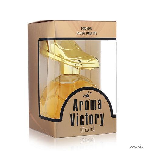 """Туалетная вода для мужчин """"Aroma Victory Gold"""" (100 мл) — фото, картинка"""
