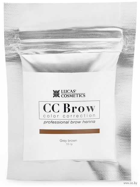 "Хна для бровей ""CC Brow. Big. Саше"" тон: grey brown — фото, картинка"