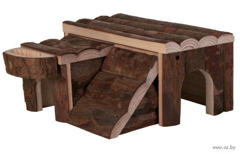 """Домик деревянный для грызунов """"Luka"""" — фото, картинка"""