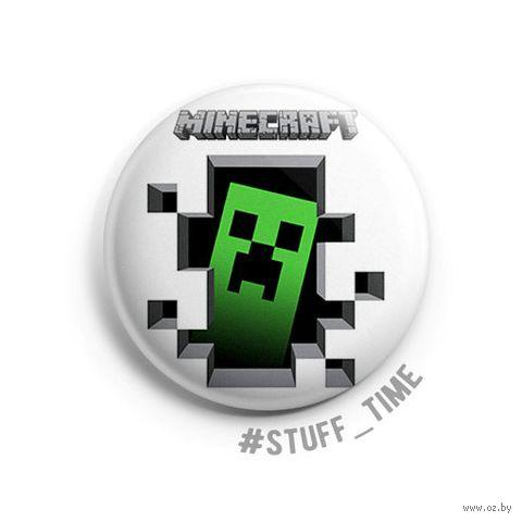 """Значок маленький """"Minecraft"""" (арт. 042) — фото, картинка"""
