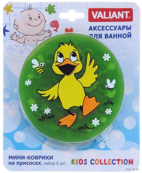 """Коврик для ванночки """"Утёнок"""" (6 шт.) — фото, картинка"""