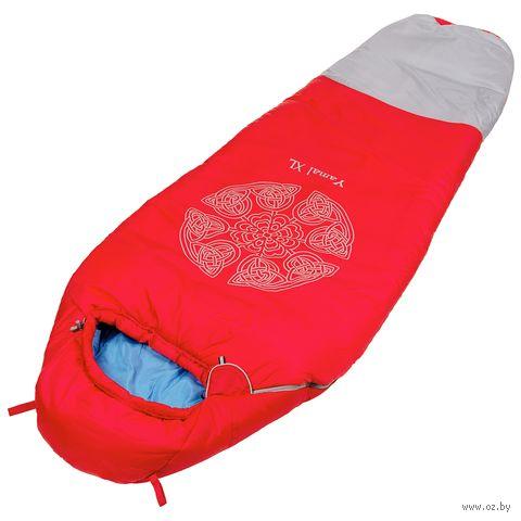 """Спальный мешок """"Ямал XL v3"""" (правый; красный) — фото, картинка"""
