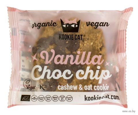 """Печенье """"Kookie Cat. Ваниль и шоколад"""" (50 г) — фото, картинка"""
