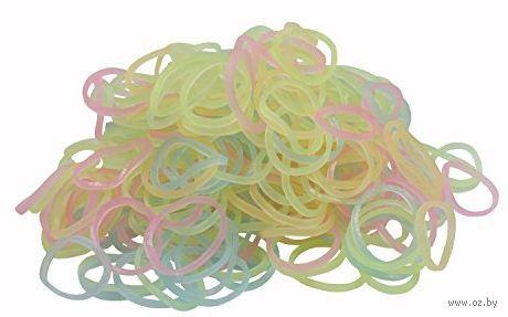"""Набор резиночек для плетения """"Rainbow Loom. Светящиеся Микс"""""""