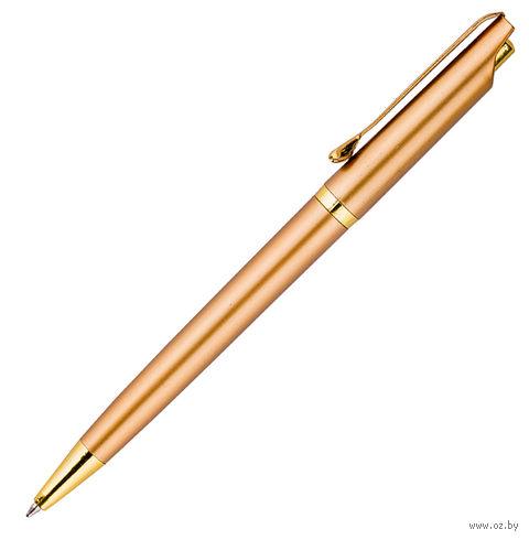 """Ручка шариковая синяя """"Gold"""" (0,7 мм)"""