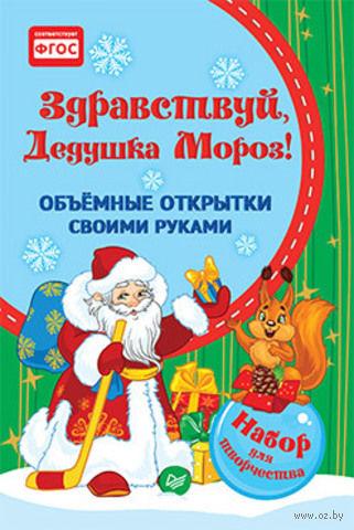 Здравствуй, Дедушка Мороз! Объемные открытки своими руками.. К. Фархутдинов