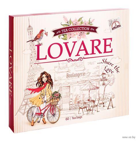 """Набор чая """"Lovare. Чайная коллекция"""" (60 пакетиков) — фото, картинка"""