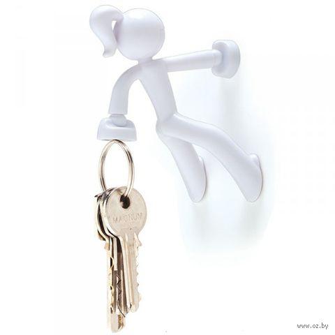 """Держатель для ключей """"Key Petite"""" (белый)"""