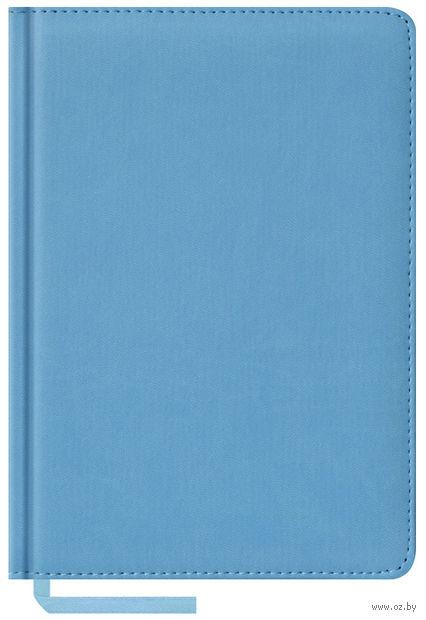 """Ежедневник недатированный """"Vivella"""" (А5; 160 листов; голубой)"""