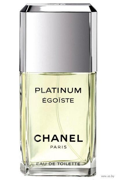 "Туалетная вода для мужчин Chanel ""Egoiste Platinum"" (50 мл) — фото, картинка"