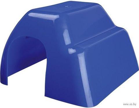 Домик пластиковый для грызунов (14x9x16 см) — фото, картинка