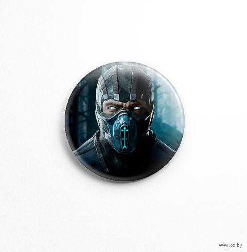 "Значок ""Mortal Kombat. Sub-Zero"" (арт. 770) — фото, картинка"