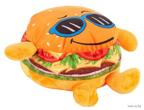 "Мягкая игрушка ""Крутой бургер"" (20 см) — фото, картинка"