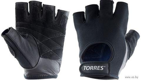 Перчатки для фитнеса (XL; чёрные; арт. PL6047ХL) — фото, картинка