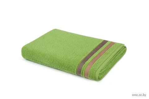"""Полотенце махровое """"Исландия"""" (40х70 см; травяной) — фото, картинка"""