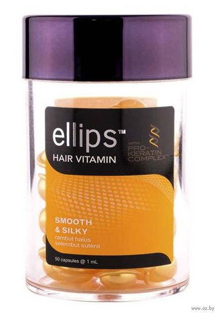 "Масло для волос ""Pro-Keratin Complex. Smooth and Silky"" (50 мл) — фото, картинка"