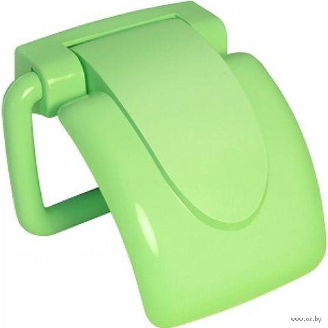 """Держатель для туалетной бумаги пластмассовый """"Ролло"""" (160х163 мм)"""