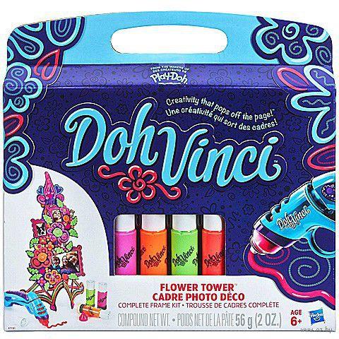 """Набор для лепки из пластилина """"DohVinci. Цветочная башня"""""""