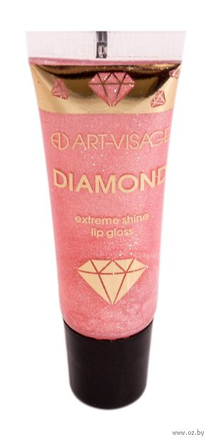 "Блеск для губ ""Diamond"" тон: 53, розовый агат — фото, картинка"