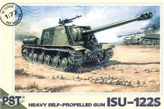 САУ ИСУ-122С (масштаб: 1/72) — фото, картинка
