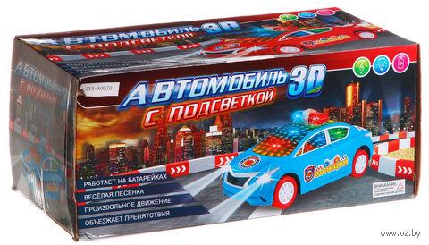 Автомобиль (с 3D-подсветкой; арт. ZYA-A0970) — фото, картинка