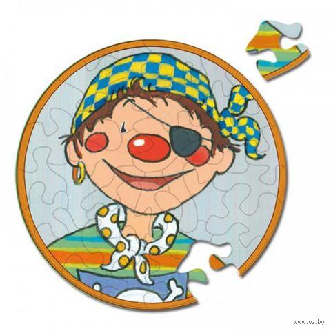 "Пазл ""Клоун с рыжими волосами"" (33 элемента) — фото, картинка"
