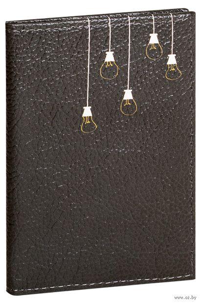"Обложка на паспорт ""Лампочки"" — фото, картинка"