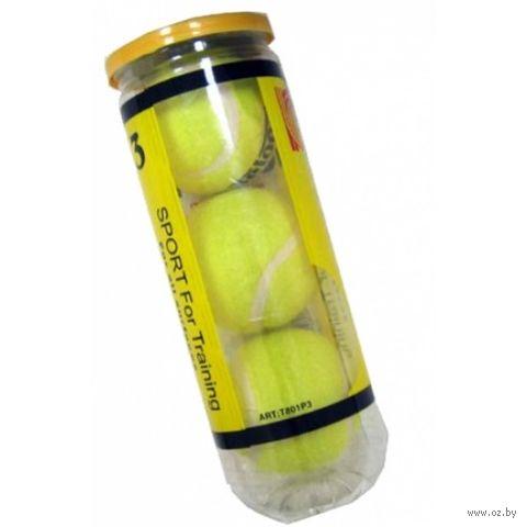 Мячи для большого тенниса (3 шт.; арт. 803P) — фото, картинка