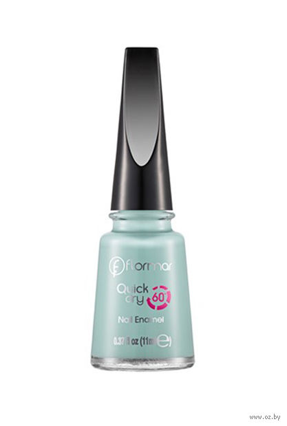 """Лак для ногтей """"Quick Dry Nail Enamel"""" (тон: 15, fresh mint) — фото, картинка"""
